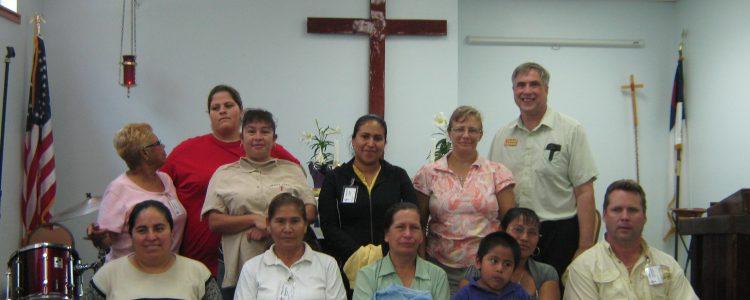 Pastor and Volunteers in Immokalee