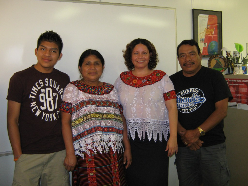 Immigration Services - Family from Guatemala
