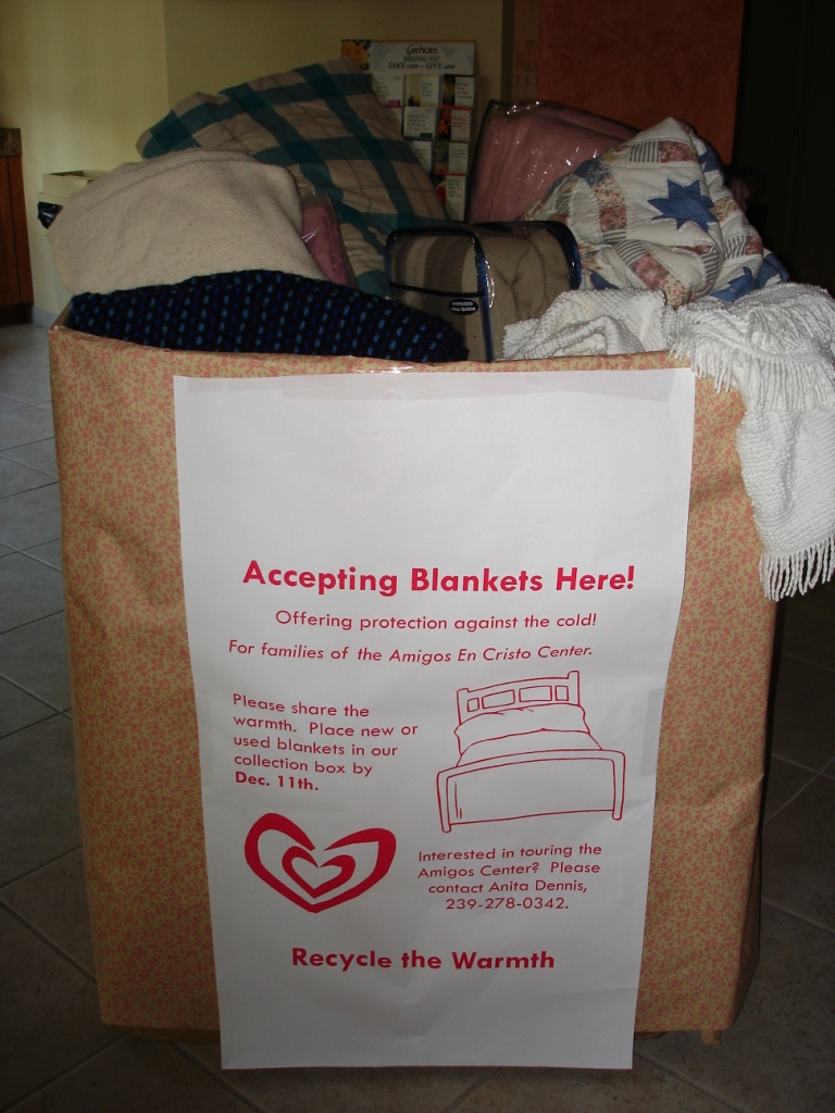 Blanket Drive for Immokalee