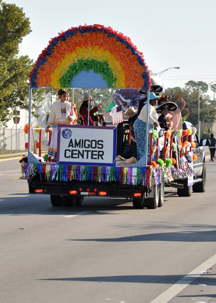Immokalee parade float back