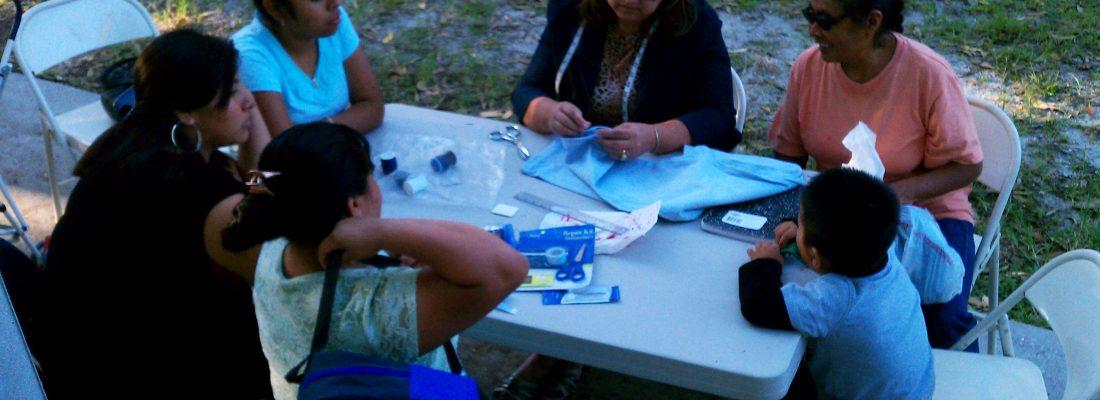 amigos center sewing class