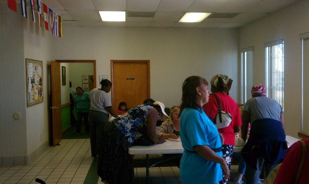 Amigos Center Food Distribution