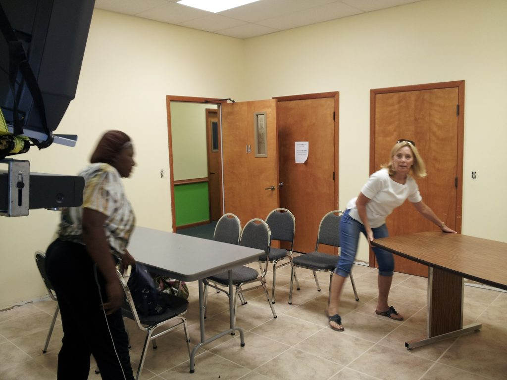 Childrens ministry room renovations