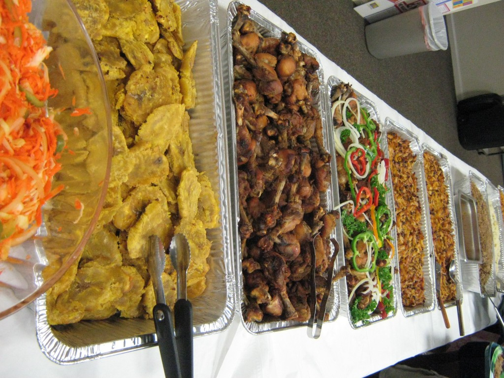 Haitian Food Buffet