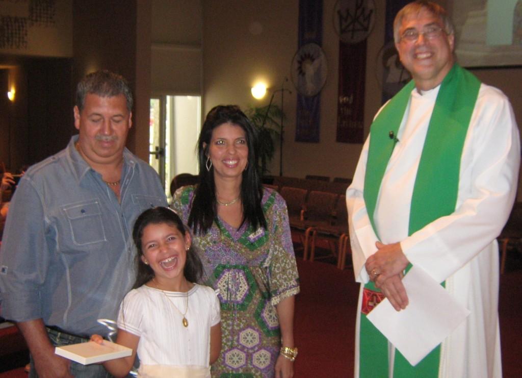 Amigos en Cristo Lutheran Church First Communion